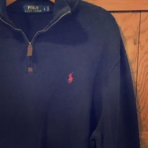 Polo Ralph Lauren Zip Collar Sweatshirt